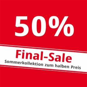 FINAL SALE in den S18 Stores