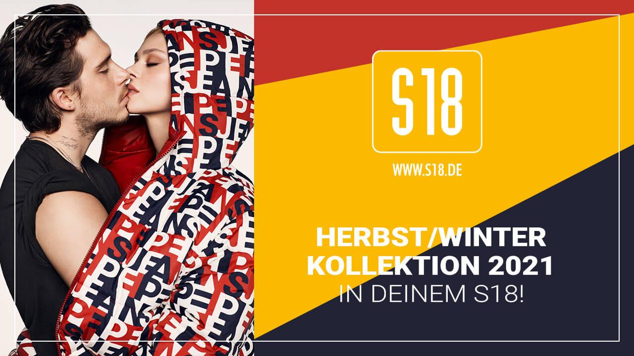 Die Herbst/Winter Kollektion 2021 in Euren S18 Stores