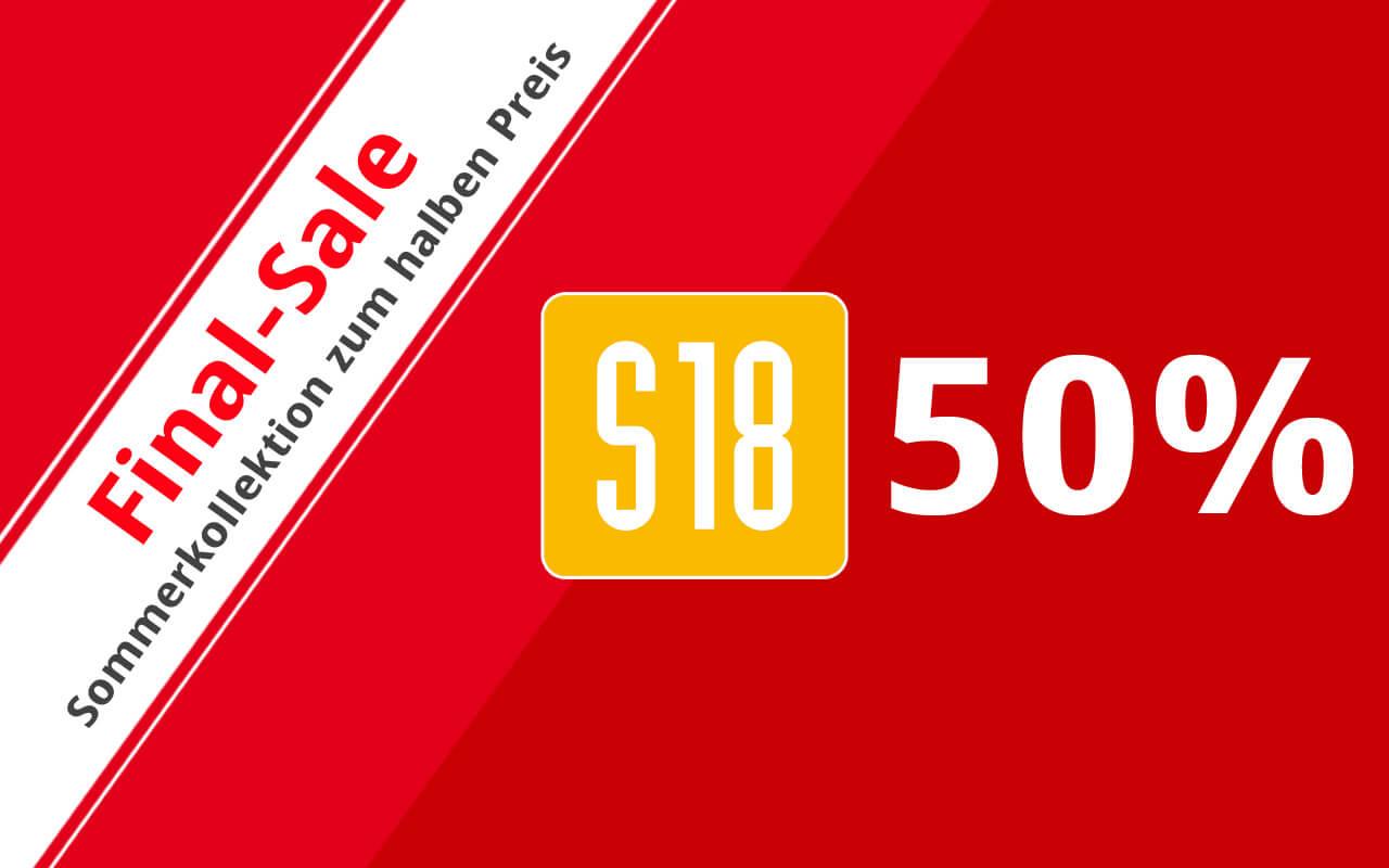 Final Sale in den S18-Stores