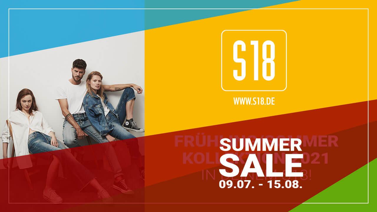 Der SUMMER SALE 2021 in Euren S18 Stores